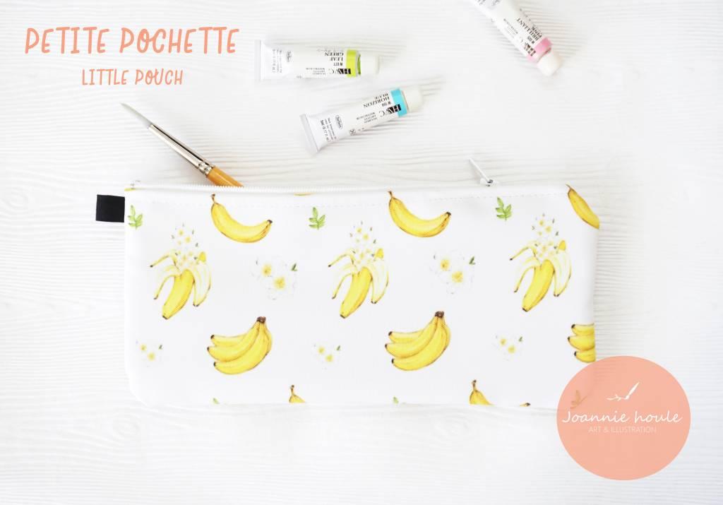 Joannie Houle Bananas pouch