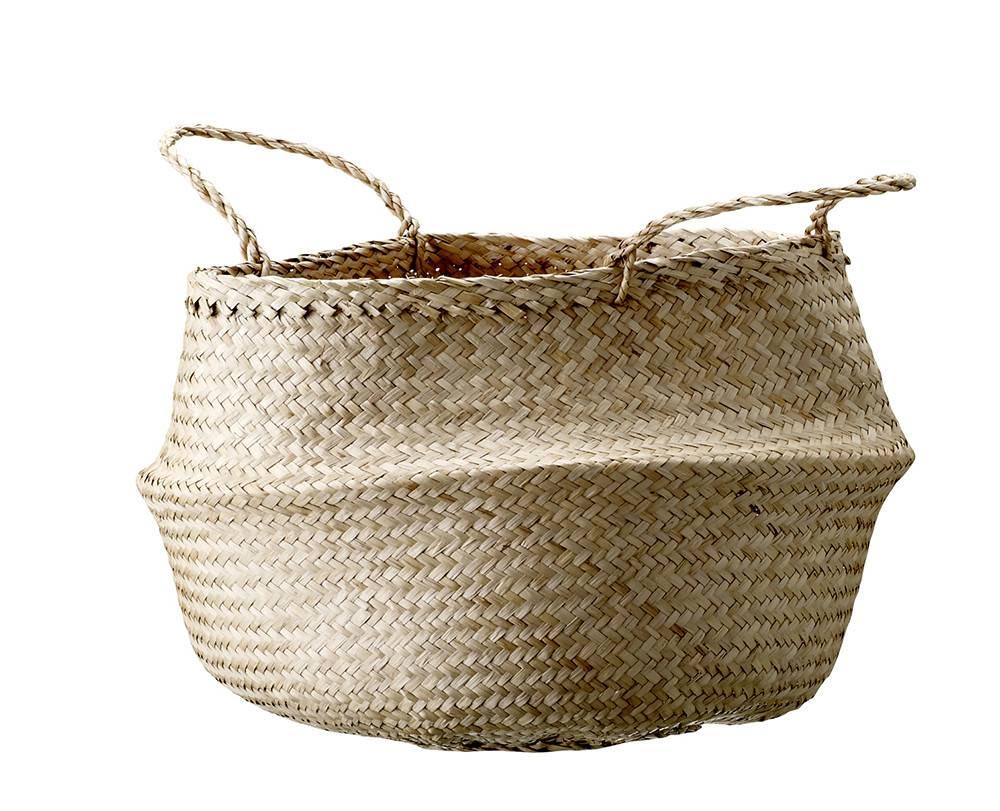 Design Home Seagrass Natural Large Basket