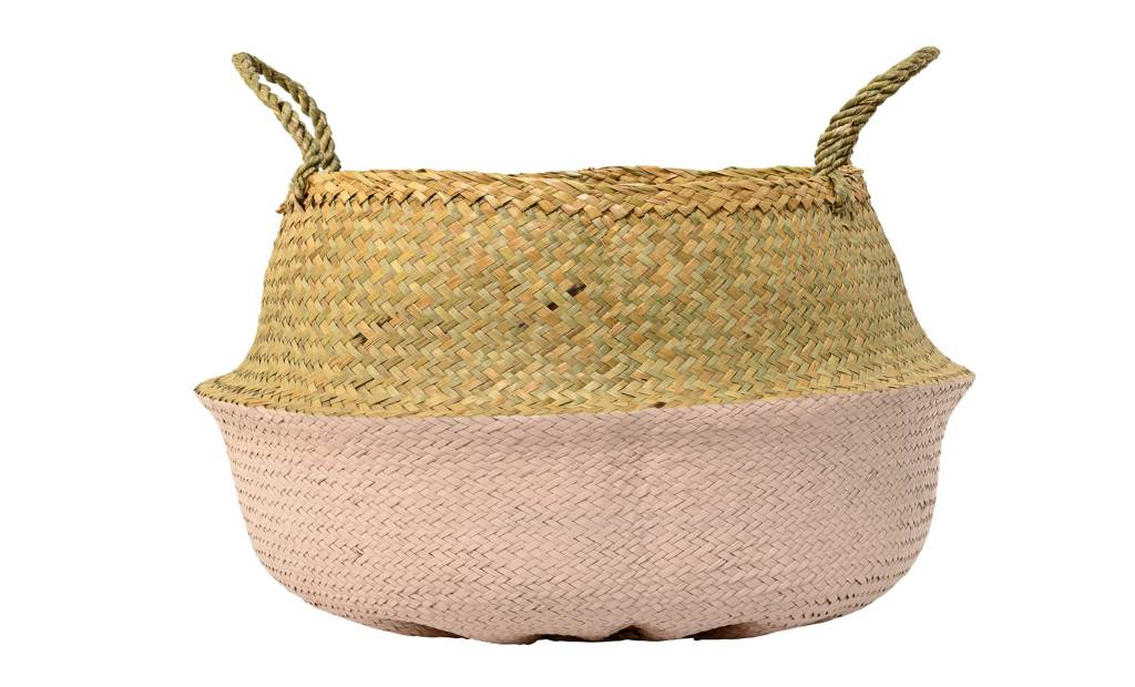 Design Home Pink Large Basket