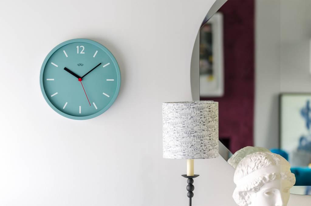 Wild&Wolf Blue Swiss Clock