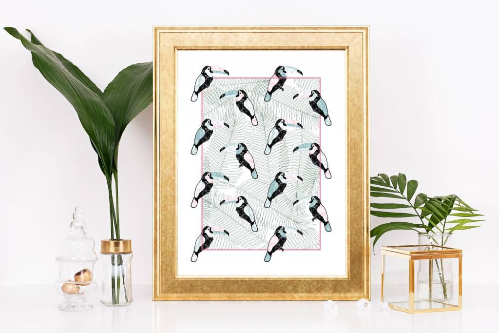 Fleur Maison Big Print – Mosaic Classic Toucan