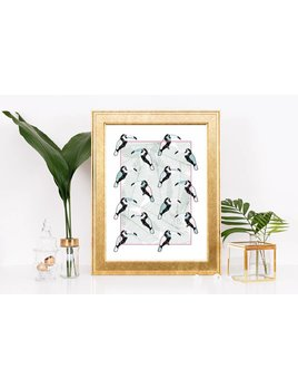 Fleur Maison Small Print – Mosaic Classic Toucan