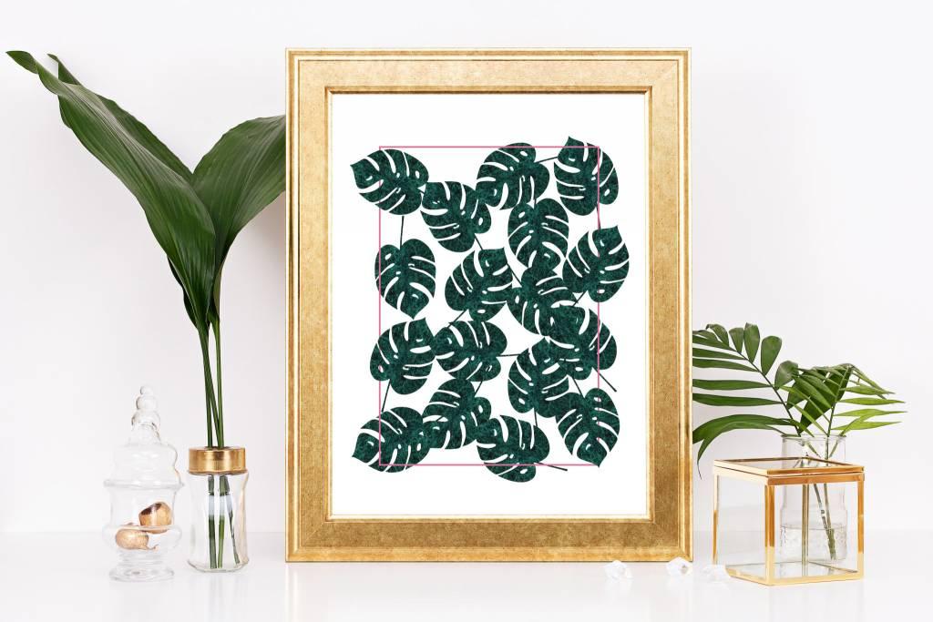 Fleur Maison Big Print – Mosaic Monstera