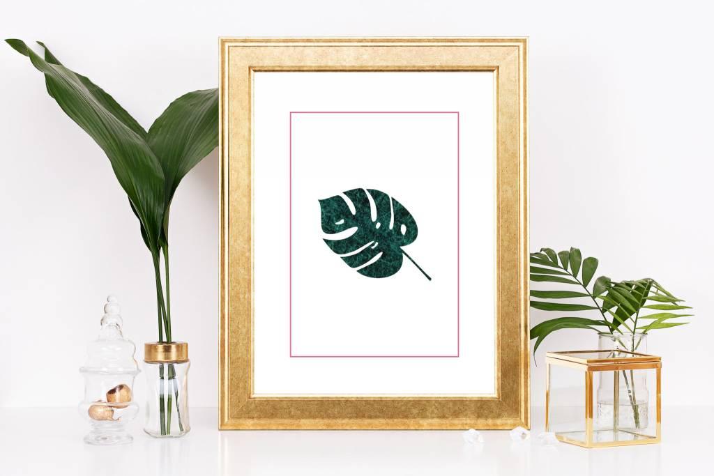 Fleur Maison Small Print - Monstera