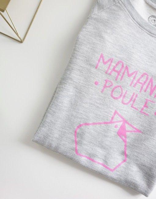 Ptit Mec Ptite Nana Tricot Classique Maman Poule