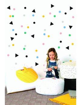 Gauthier Studio Adhésifs Décoratifs Confetti
