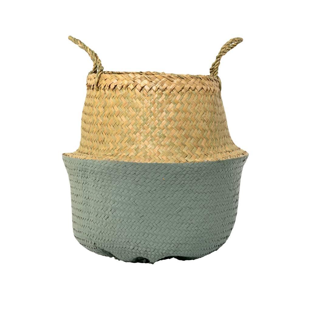 Bloomingville Small Sage Green Basket