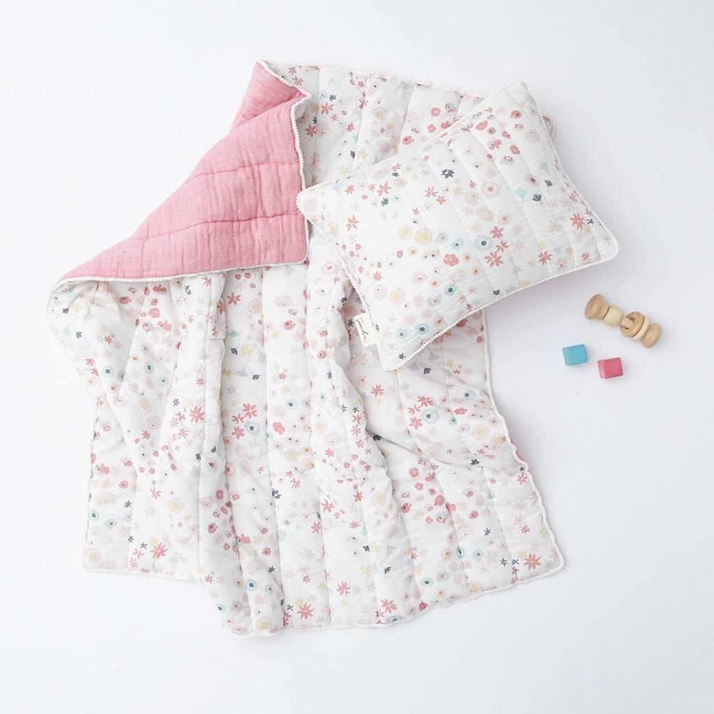 Pehr Design Meadow Quilted Blanket