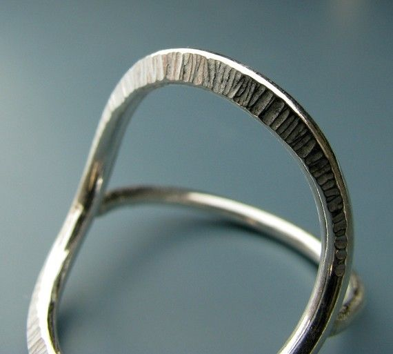 Le Cubicule Silver Forged Ring
