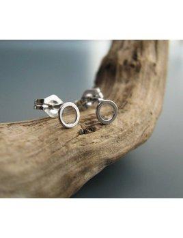 Le Cubicule Mini Circle Earrings