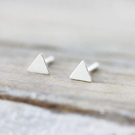 Le Cubicule Boucles d'oreilles Mini Triangles