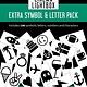Cinema Lightbox Extra Letter & Symbol Pack - Original Lightbox