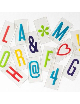 Cinema Lightbox Vibrant Letter Pack - Original Lightbox