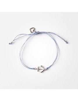 Si Simple Anchor Bracelet