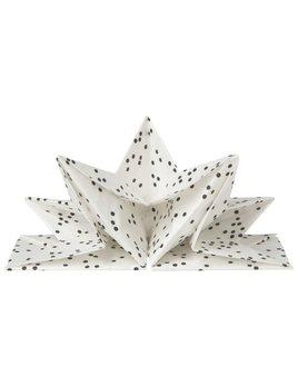 Danica/Now Napkins à pois Origami
