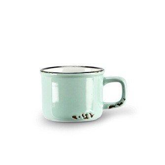 Abbott Mint Enamel Espresso Cup