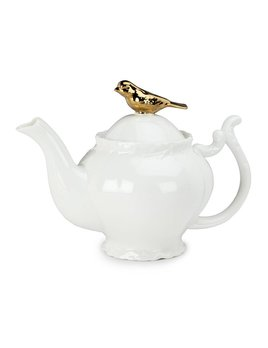 Abbott Gold Bird & Branch Teapot