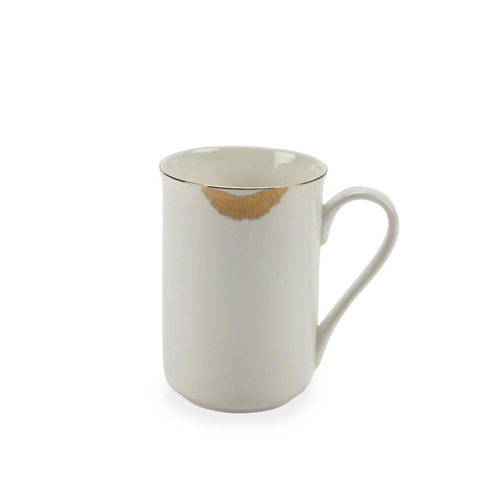 Abbott Gold Lips Mug