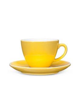 Abbott Tasse et soucoupe cappuccino jaune