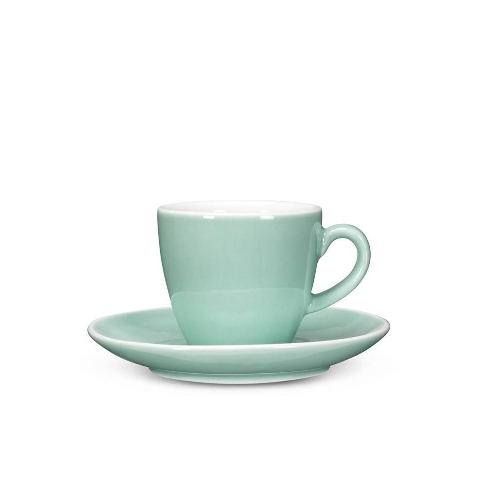 Abbott Mint Espresso Cup and Saucer