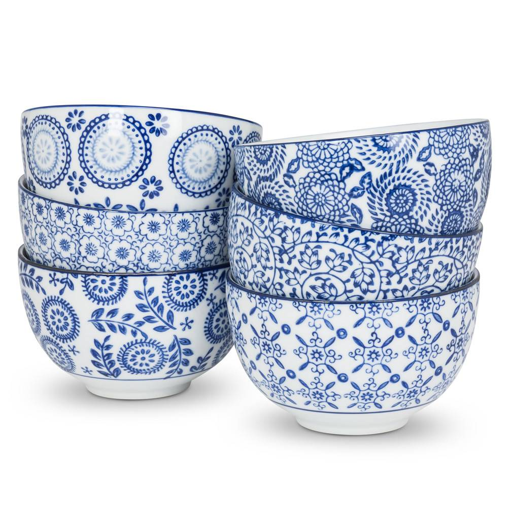 Abbott Blue&White Deep Bowl