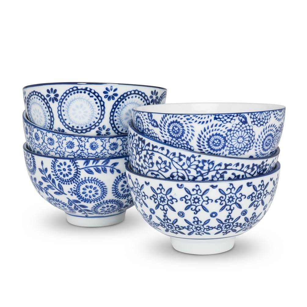 Abbott Blue&White Rice Bowl