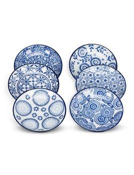 Abbott Petite Assiette Bleue et Blanche