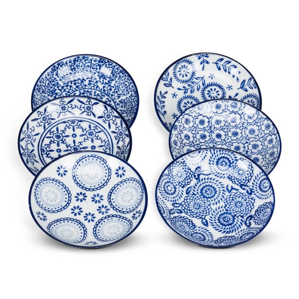 Abbott Blue&White Shallow Dish