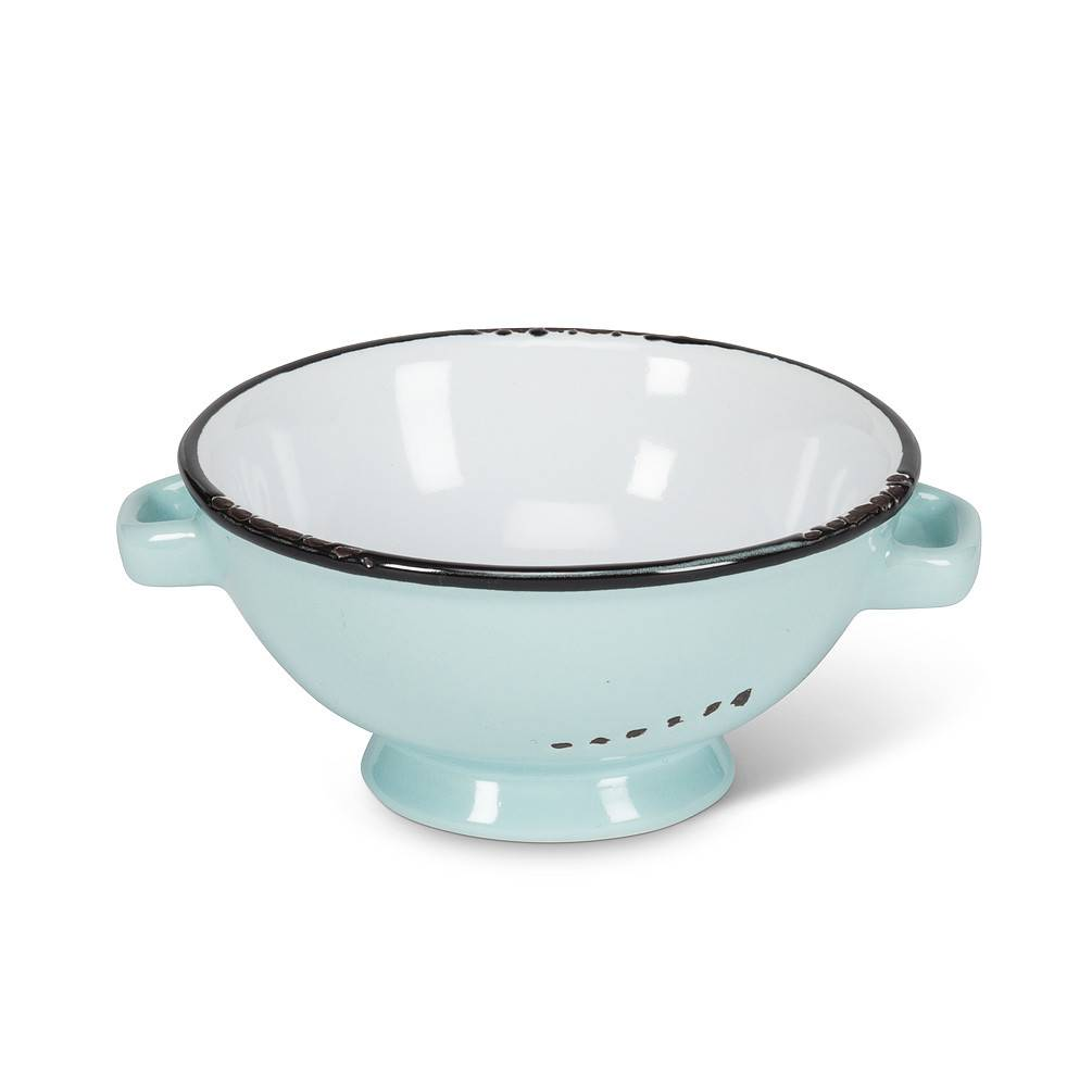 Abbott Mint Enamel Dip Dish