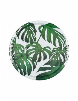 Eightmood Monstera Round Tray