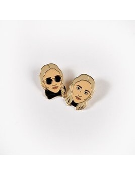 Drake General Store Olsen Twins Pair Pins