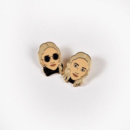 Drake General Store Olsen Twins Pair Pins