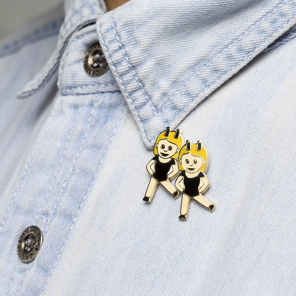 Drake General Store Broches - Jumelles Emojis