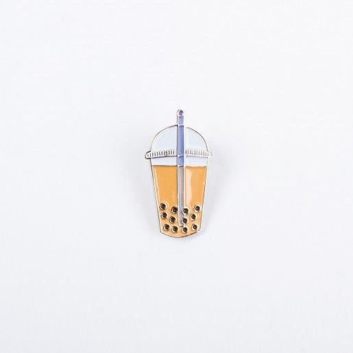 Drake General Store Bubble Tea Enamel Pin