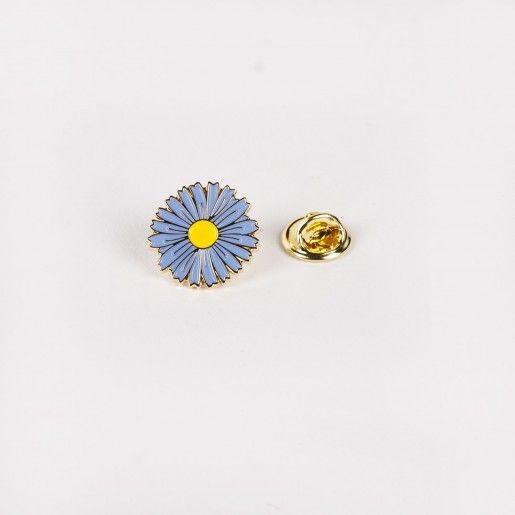 Drake General Store Aster Flower Enamel Pin