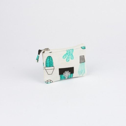 Drake General Store Cactus Small Zip Pouch