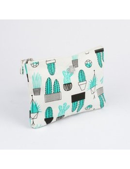 Drake General Store Cactus Large Zip Pouch