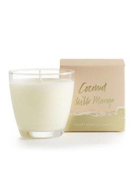 Coco milk mango demi boxed glass candle