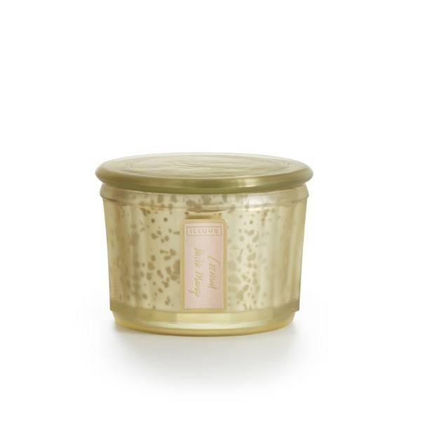 Coconut milk mango demi-lustre candle