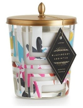 Blackberry absinthe cameo jar candle