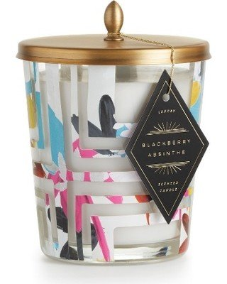 Blackberry absinthe cameo jar candle
