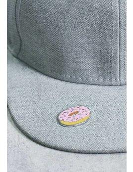 IDecoz Autocollant Broche Donut