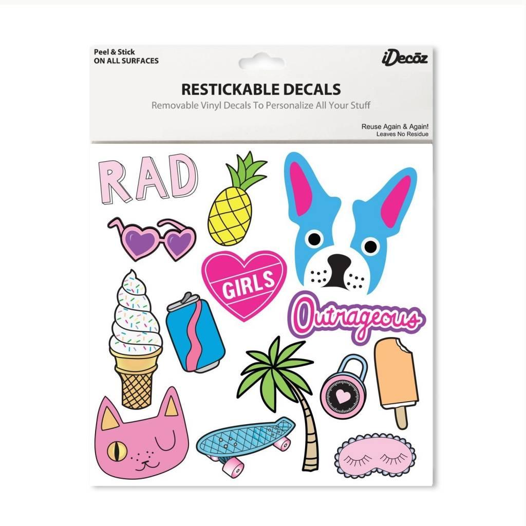 IDecoz Girls XL Stickertags