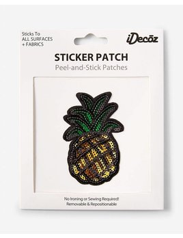 IDecoz Pineapple Sequin Sticker Patch