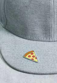IDecoz Autocollant Broche Pizza