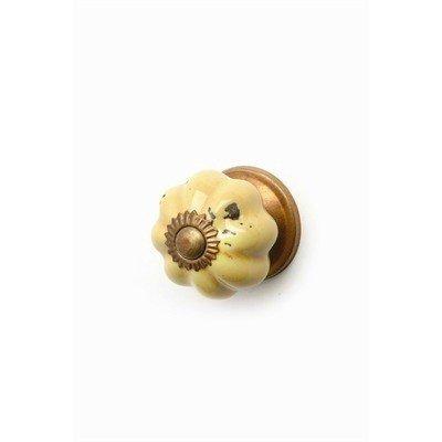 ADV Small Yellow Pumpkin Knob
