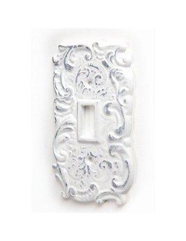 ADV Plaque Interrupteur Blanc