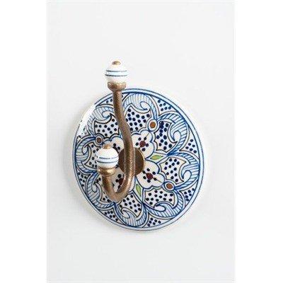 ADV Crochet Céramique Bleu