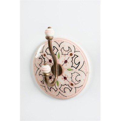 ADV Crochet Céramique Rose