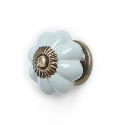 ADV Powder Blue Pumpkin Knob
